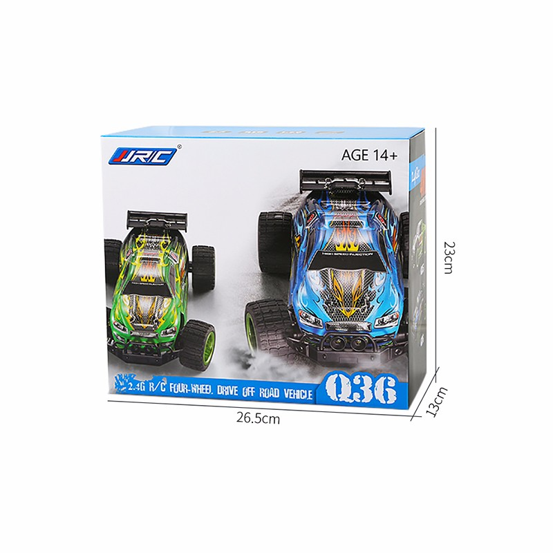 2.4G R/C FOUR-WHEEL DRIVE OFF ROAD VEHICLE