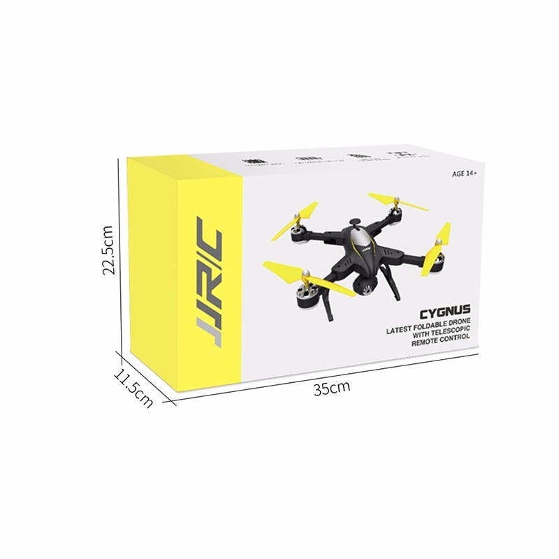 FOLDABLE DRONE WITH TELESCOPIC REMOTE CONTROL