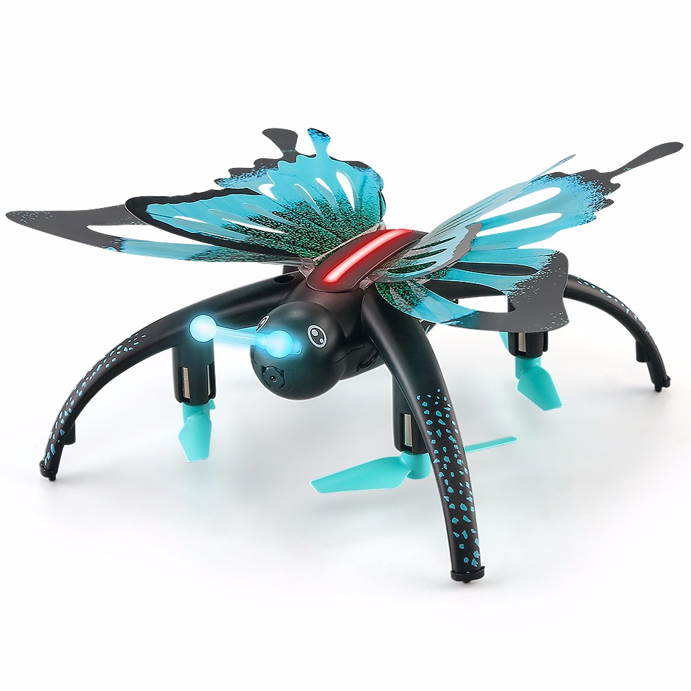 BUTTERFLY-LIKE RC QUADCOPTER