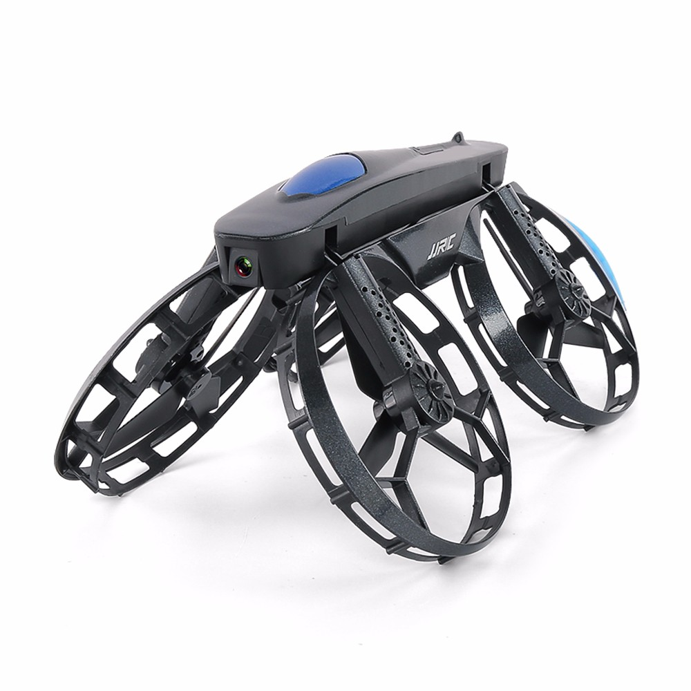 WHEEL-SHAPED FOLDABLE DRONE