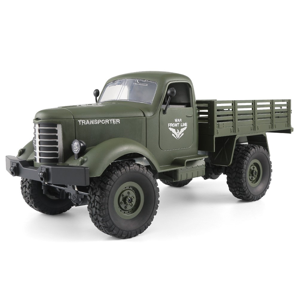 1:16  2.4G 4WD RC OFF-ROAD MILITARY TRUCK