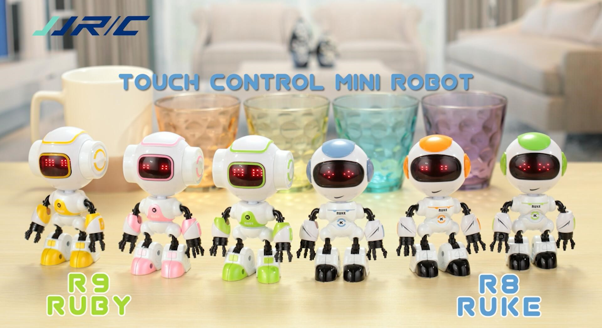 Mini Robot With Touch Control