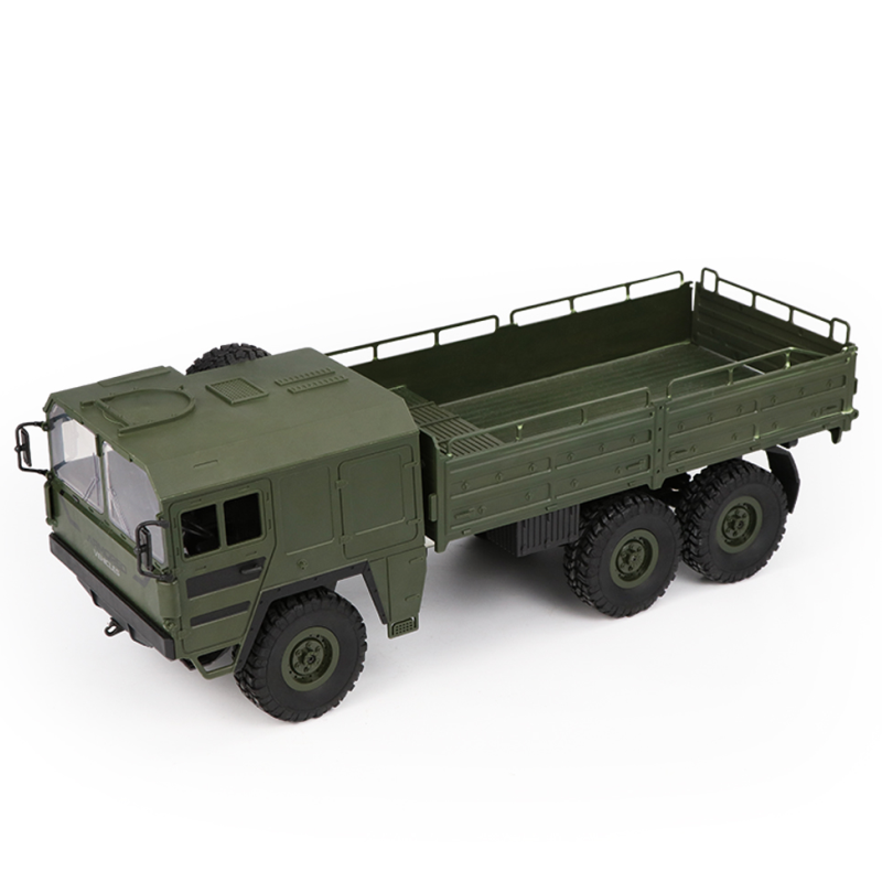 2.4G 6WD RC OFF-ROAD MILITARY TRUCK