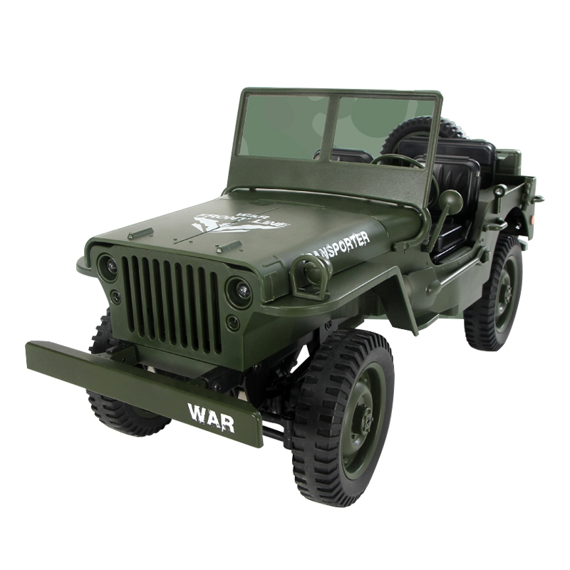1:10 2.4G 4WD RC Off-Road Military Truck