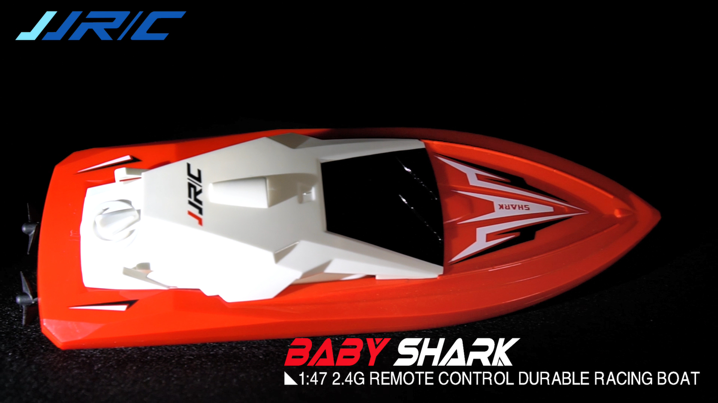 1:47 2.4G Durable Remote Control Racing Boat