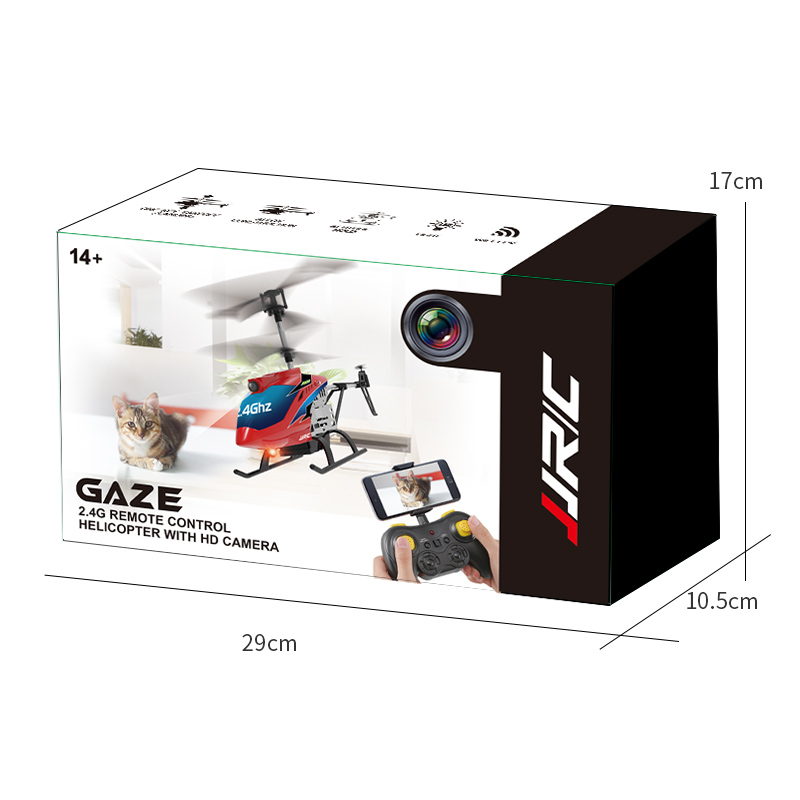2.4G REMOTE CONTROL HELICOPTER WITH HD CAMERA