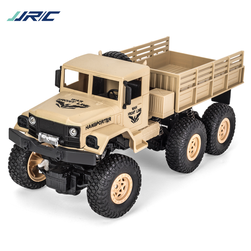 1:18 2.4G SIX WHEEL REMOTE CONTROL MILITARY TRUCK